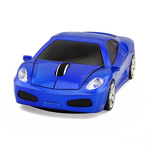 2.4GHz Cool Car Wireless Mouse Car Mice with USB Receiver