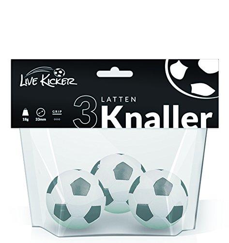 Live Kicker Bälle Ballset Lattenknaller, 49003