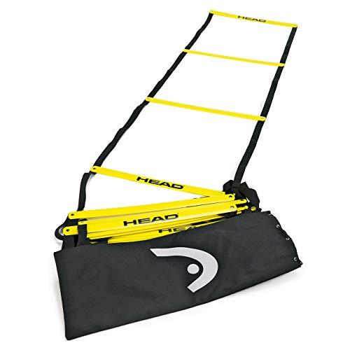 HEAD Agility Ladder, Tennis Accessori Unisex Adulto, Nero, Taglia Unica
