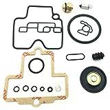 SNOWINSPRING Kit de ReconstruccióN de Carburador para Motores Kit de ReparacióN de Motor de Sierra de Cadena Juego de Carburador Accesorios para Juntas de Herramientas