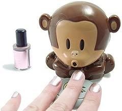 HD Design Cute Monkey Shaped Manicure Nail Polish Blower Dryer