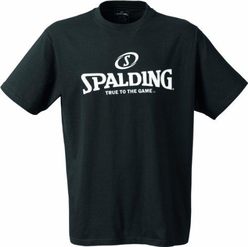 Spalding Mens Basketball-Fanartikel Logo T-Shirt, Black, L