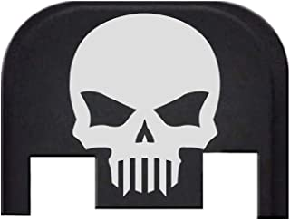 BASTION Rear Cover Slide Back Plate for Glock - Skull
