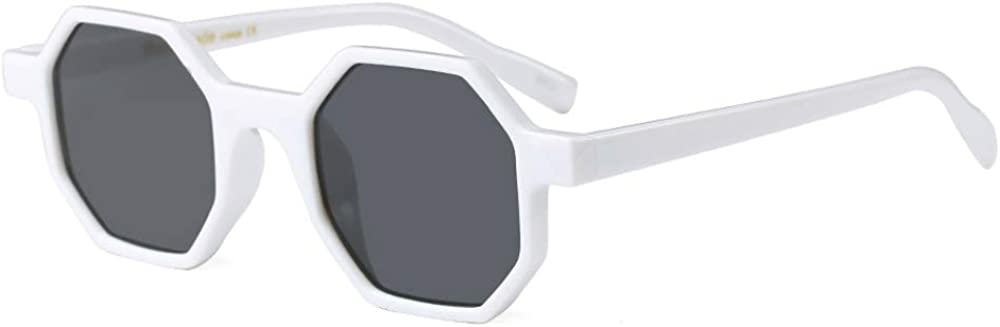 Hexagonal Sunglasses Al sold out. for We OFFer at cheap prices Men Women Octagon Retro Plastic Vintage