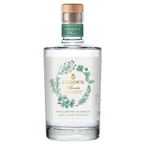 CEDER's Classic – Alkoholfreier Gin aus Schweden – Die alkoholfreie Alternative zu Gin – 1 x 0,5L