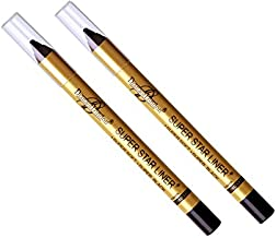 2 Pc Diana of london super star black eyeliner single stroke smudge proof, long stay ( Sealed with latest stock)