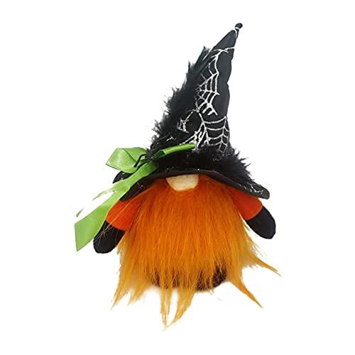 Dasongff Decoración de muñeca sin cara con adornos luminosos para mesa de fiesta, muñeca de peluche, figuras de gnomo sueco, muñecas de peluche para Halloween, decoración de escritorio en casa, fiesta