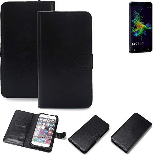 K-S-Trade® Handy Schutz Hülle Für Allview P8 Energy Mini Schutzhülle Bumper Schwarz 1x