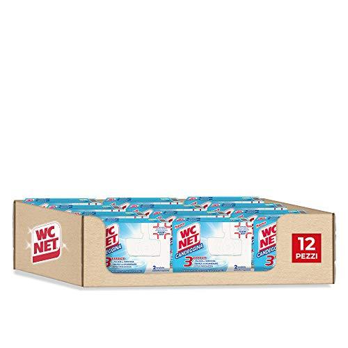 Wc Net Tavoletta Solida Candeggina - 2 pezzi x 12 confezioni