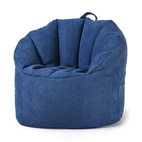 SD Pouf Poire/Grande Fauteuil/Bean Bag Chaise/Canapé/Confortable/avec Poignée/A des Poches Latérales/pour Enfants Et Adultes 76 * 68 * 60cm