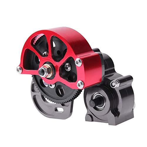 Nrpfell für RC AXIAL SCX10 Truck Alloy Getriebe, Voll Metall Getriebe mit Stahlgetriebe