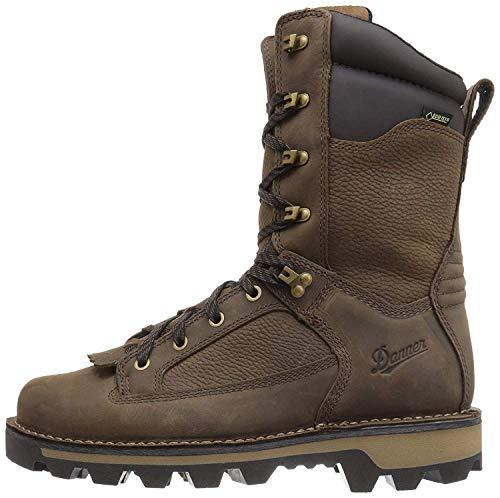 Danner mens Powderhorn Hunting Shoes, Brown - Full Grain, 12 US