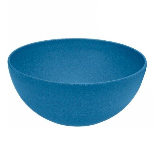 Magu 134 038 Bol, Fibre de Bambou/Bois/Fécule de Céréale, Bleu, 28 x 28 x 8 cm