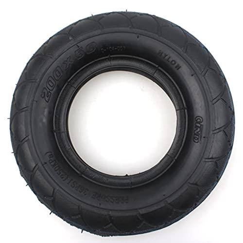 WYDM Neumático 200 x 50 (8 'x 2') Reemplazo para E-Scooters e100 e125 e200 ePunk y
