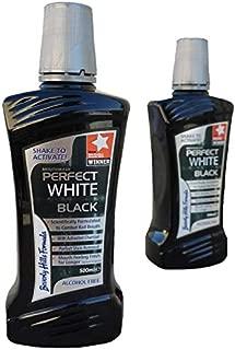 Beverly Hills Formula Perfect White Black Alcohol Free Mouthwash, 500 ml
