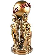 De wereld is van jou hars standbeeld - Premium Prop film Replica Collectible figuur bronzen afwerking standbeeld Home Decor - uniek cadeau voor vakantie, bureau, woonkamer