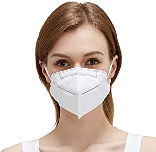 DASHINGZONE High qaulity 5 layer KN 95 mask Cotton Mouth Nose Cover Unisex Anti-Pollution Clothe Mask [ PACK OF 3 ]