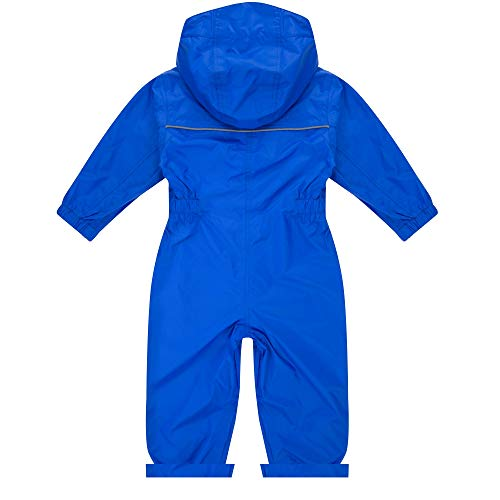 Regatta Unisex Kids Puddle IV All-in-One Suit, Blue (Oxford Blue), 18-24 months
