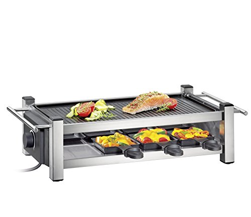 Küchenprofi Raclette TASTE8-KP1770502800/grau