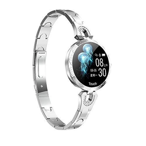 JHMAOYI - Pulsera de reloj inteligente anticaídas, movimiento paso a paso, información de salud, reloj inteligente