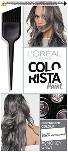 L'Oreal Colorista Paint Smokey Grey Permanent Hair D