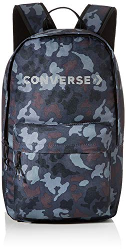 Converse Mono Camo Edc Backpack Mochila, Unisex Adulto, camoblack, 22l