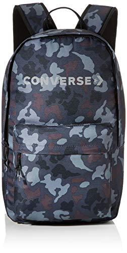 Converse Unisex Mono Camo Edc Backpack Tagesrucksack, Camouflage, schwarz, 22l