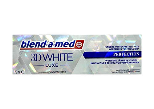 BLEND A MED 3D WHITE LUXE PERFEKTION 75ml Zahnschmelzschonende Zahncreme