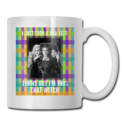Hocus Pocus Ich habe gerade einen DNA-Test gemacht Es stellt sich heraus, dass Im 100% ein Geschenk für Männer, Frauen, die Tassen lieben