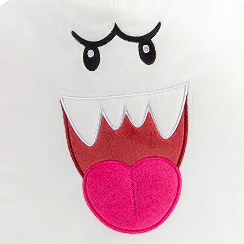 Club Mocchi Mocchi Nintendo Super Mario Boo 15 Inch Plush Stuffed Toy, Multi