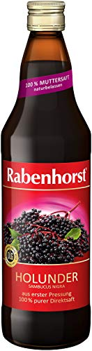 Rabenhorst Holunder Muttersaft, 6er Pack (6 x 700 ml)