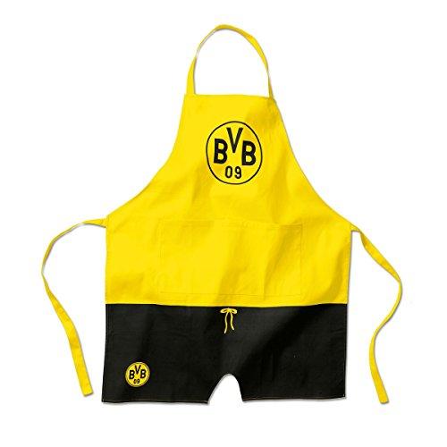 Borussia Dortmund BVB Kochschürze (schwarz/gelb, one Size)