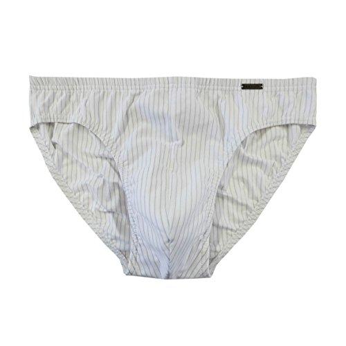 Ammann Herren Mini-Slip Smart & Stripes 3er Pack Farbe weiß, Größe 7