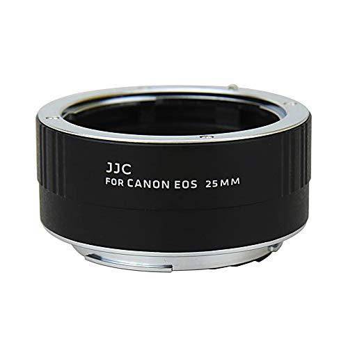 JJC 25mm Metal Tubo de Extensión TTL Enfoque Automático AF para Lentes...