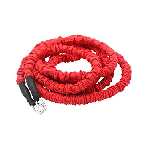 YNXing Resistance Trainingsseil Explosive Force Bounce Körperliches Widerstandsseil Verbessern von Geschwindigkeit Ausdauer und Kraft (3m elastisches Seil)