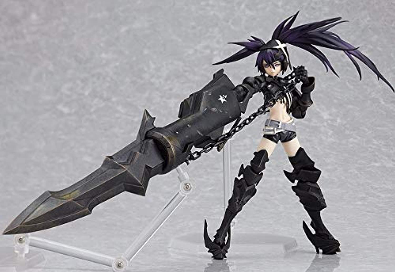 Allegro Huyer Black Rockshooter Action Figure SP041 Insane Black Rock Shooter 150mm Anime Shooter Mato Kuroi Collectible Model Toy(No Box Packing)