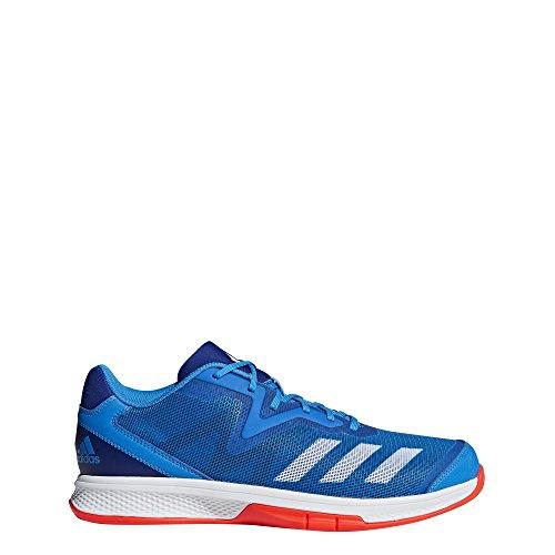 adidas Jungen Counterblast Exadic Handballschuhe, Blau (Azubri/Ftwbla/Rojsol 000), 36 2/3 EU