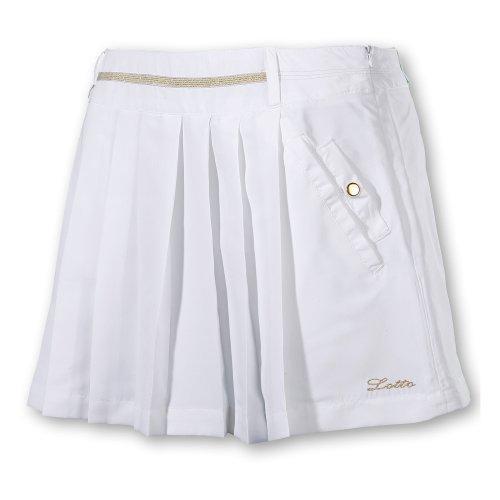 Lotto Sport Jupe + Pantalon Charlotte, Femmes, Blanc - XL (42)
