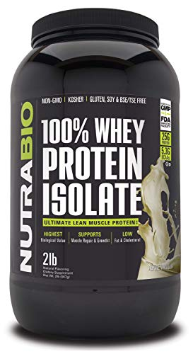 NutraBio 100% Whey Protein Concentrate