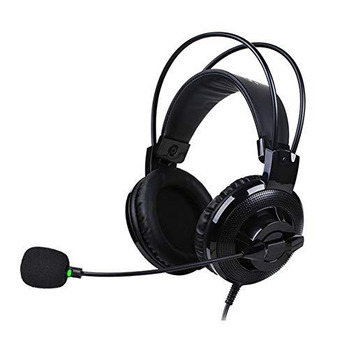 YYZLG Student Test Headset, Computer Man-machine Gesprek Engels Sprekende Headset, Headmounted Usb Interface Eenpunts Kan Microfoon Draaien