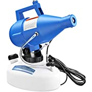 Vinpie 4.5L Electric Portable Fogger, Intelligent ULV Sprayer Fogger with 8-10 Meters Power Cord Disinfection Machine for Indoor/Outdoor/Hospitals/Home/Ultra Capacity Spray Machine