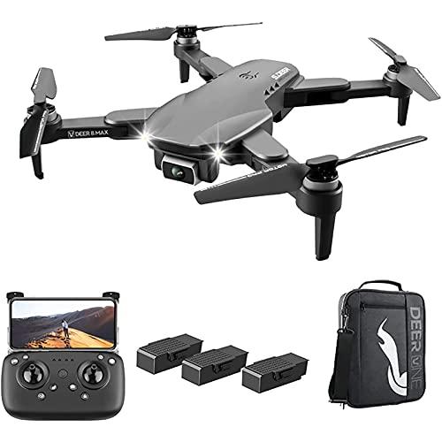 DCLINA Drone con Fotocamera 6K HD GPS Droni Professionali con Fotocamera Drone Lungo Tempo Volo 60 Minuti Drone Professionale Funzione Follow Me RC Quadrocopter Elicottero telecomandato