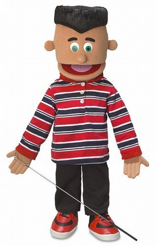 "25"" Jose, Hispanic Boy, Full Body, Ventriloquist Style Puppet"