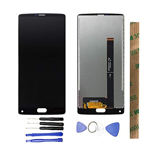 JayTong LCD Display & Replacement Touch Screen Digitizer Assembly with Free Tools for Homtom S9 Plus Black