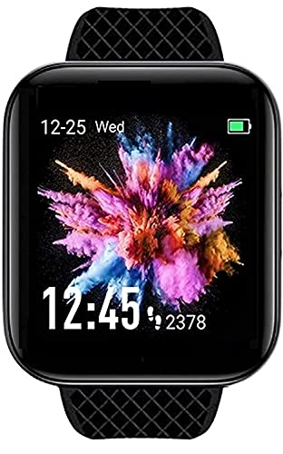 Smart Watch D116 Bluetooth Smartwatch Wireless Smart Fitness Band for Boys/Men/Kids/Women   Sports Gym Watch   Heart Rate and BP Monitor, Calories Counter Compatible with All Smartphones