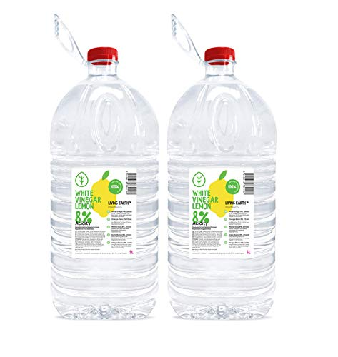 2 x 5 litres | 8% ACETO BIANCO CON LIMONE - Living Earth