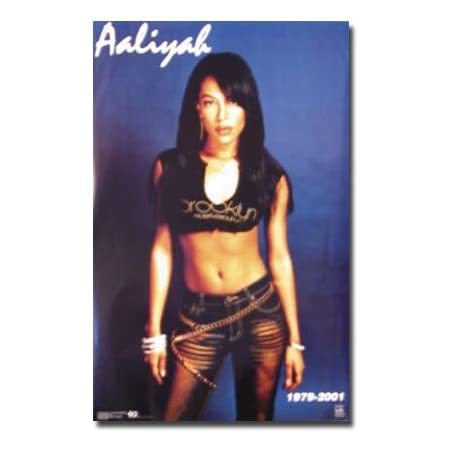 POSTER 24x36 Aaliyah Queen R/&B Pop Singer 80s 90s Art Wall Indoor Room Poster
