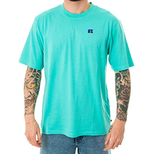 T-SHIRT HOMME RUSSELL ATHLETIC BASELINER - TEE SHIRT E0.600.1.213.TQ