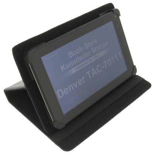 foto-kontor Tasche für Denver TAC-70111 TAQ-70142 TAD-70102G TAQ-70202 TAQ-70252 TAQ-70232 BookStyle Schutz Hülle