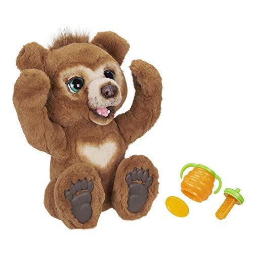 Hasbro E4591EU5 FurReal Friends furReal Cubby, Mein Knuddelbär, interaktives Plüschtier, ab 4 Jahren, braun
